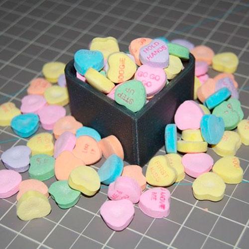 Шкатулка в виде сердца на 3D-принтере