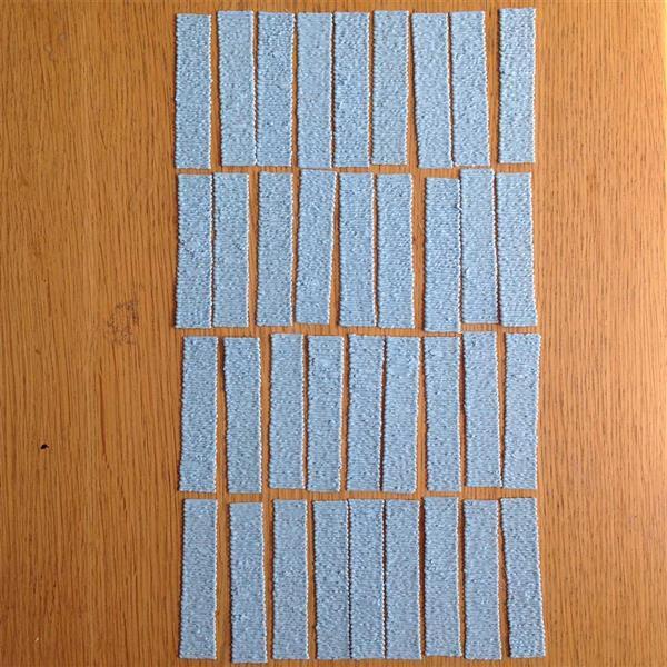 Прямоугольники для абажура нарисованные 3D ручкой