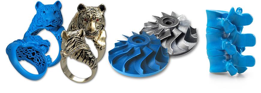3D печать смолой или воском