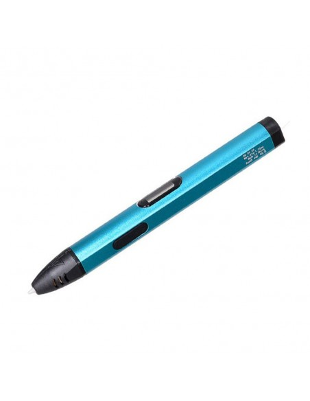 3D ручка 3DPen-05 с oLed дисплеем и USB голубая