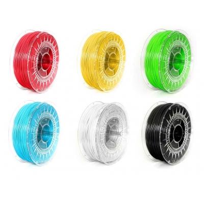 Набор PLA пластика 1.75 для 3Д (3D) печати - 6 катушек