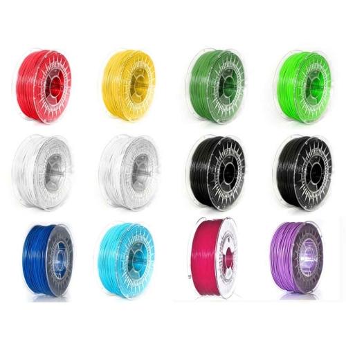 Набор ABS+ пластика 1.75 мм для 3Д (3D) печати - 12 катушек