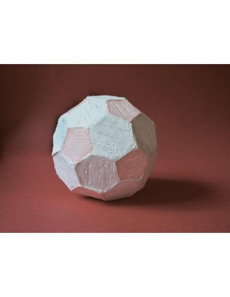 Футбольный мяч (трафарет для 3D ручки)