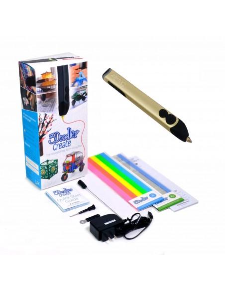 3D ручка 3Doodler Create золотая