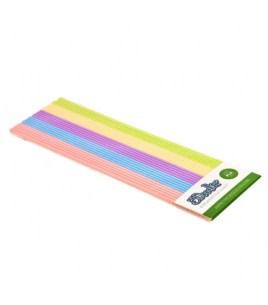 Набор Стержней PLA Пластика Для 3D Ручки 3Doodler Create (Пастель) 25 шт