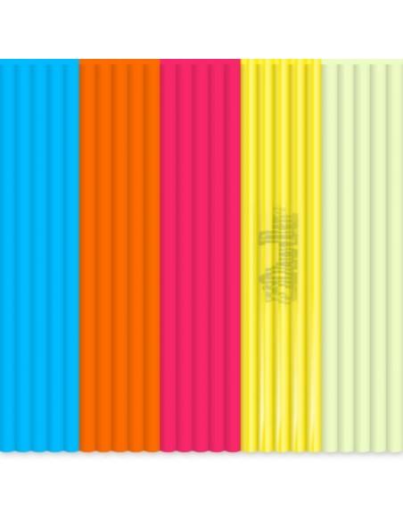 Набор стержней PLA пластика для 3D ручки 3Doodler Create (Ночи В Стиле Буги)