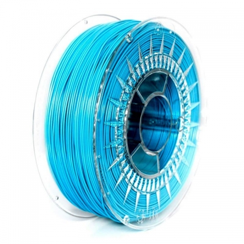 PET G 1.75 мм голубой пластик для 3D печати Devil Design (Польша)