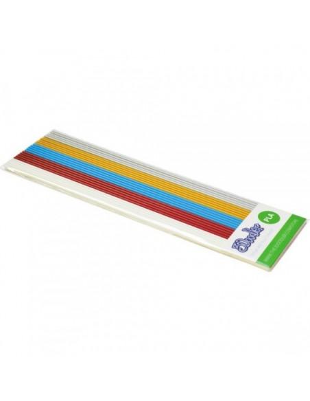 Набор Стержней PLA Пластика Для 3D Ручки 3Doodler Create (Металлик)