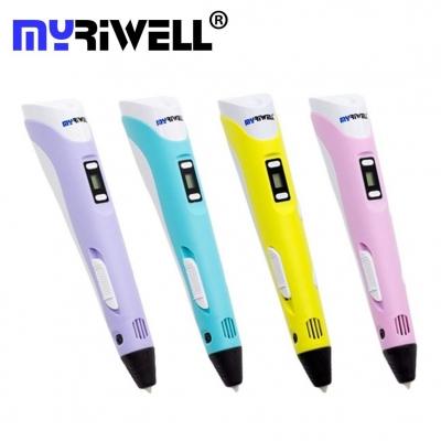 3D Ручка Myriwell RP-100B С LED Экраном Голубая (Blue)