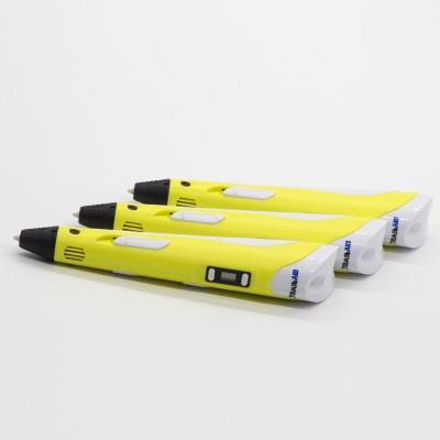 3D Ручка Myriwell RP-100B С LED Экраном Желтая (Yellow)