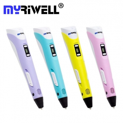 3D Ручка Myriwell RP-100B С LED Экраном Розовая (Pink)
