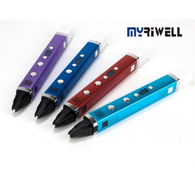 3D Ручка Myriwell RP-100С С LED Экраном и USB Фиолетовая(Purple)