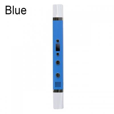 3D Ручка Myriwell RP-100С С LED Экраном и USB Синяя (Blue)