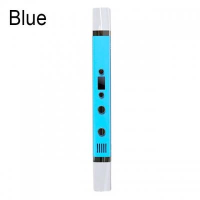 3D Ручка Myriwell RP-100С С LED Экраном и USB Голубая (LightBlue)