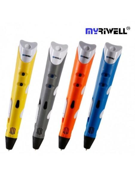 3D Ручка Myriwell RP-100A Синяя (Blue)