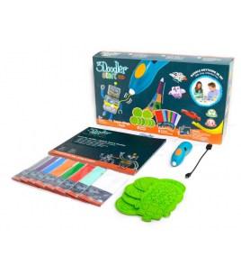 3D Ручка 3Doodler Start МегаКреатив (192 стержня, 8 шаблонов)