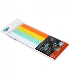 Набор Стержней PLA Пластика Для 3D Ручки 3Doodler Start (Мятный Микс)