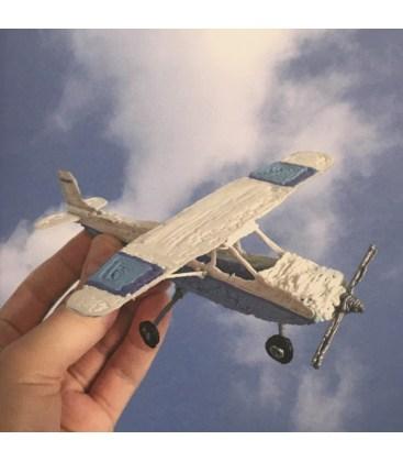Винтовой самолет (трафарет для 3D ручки)
