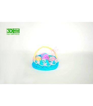 Пасхальная корзинка (трафарет для 3D ручки)