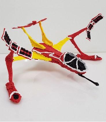 Бесплатный мастер класс 3D ручкой «Космический корабль»