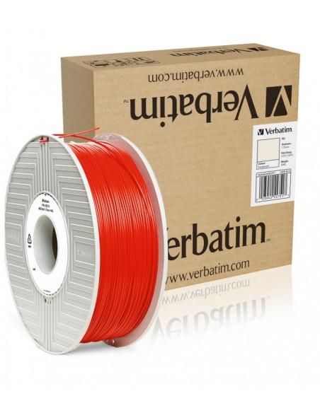 ABS 1.75 мм Червоний Пластик Для 3D Друку Verbatim (non-retail)