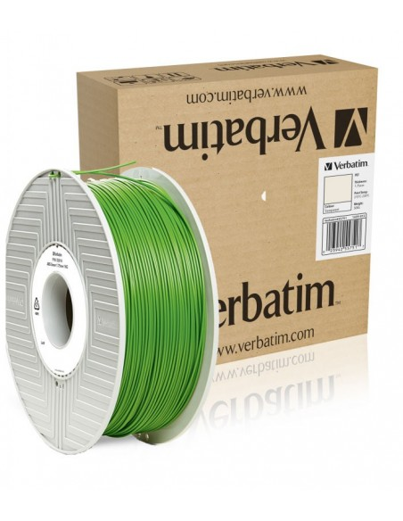 ABS 1.75 мм зеленый пластик для 3D печати Verbatim (non-retail)