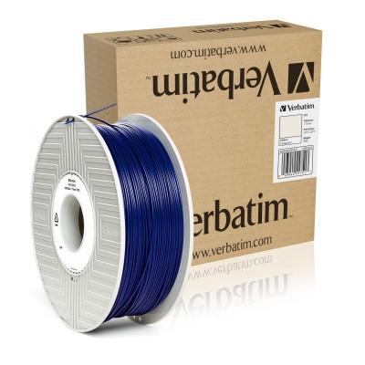 ABS 1.75 мм Синій Пластик Для 3D Друку Verbatim (non-retail)