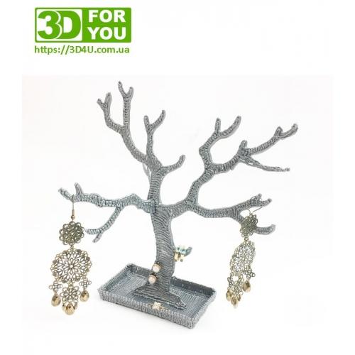 Дерево для прикрас (трафарет для 3D...