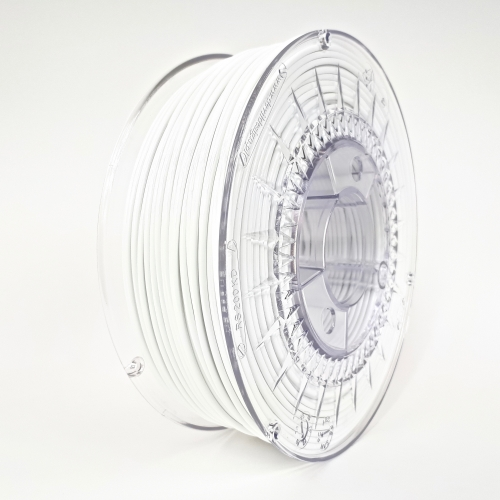 PET-G 2.85 мм Білий Пластик Для 3D Друку Devil Design (Польща)