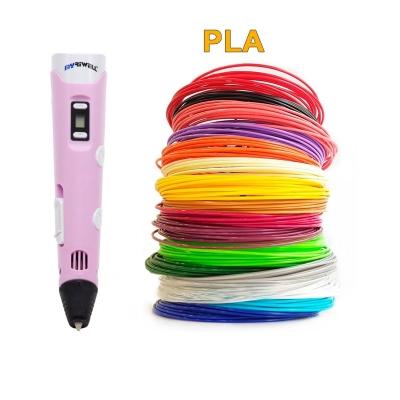 3D-Ручка MyRiwell RP-100B + 90 м PLA (18 цветов). Набор Super