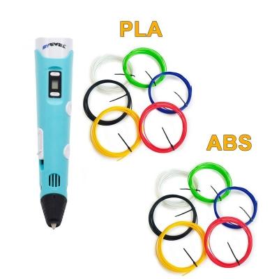 3D-Ручка MyRiwell RP-100B + 60 м (PLA + ABS по 6 цветов). Набор VIP