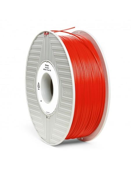 ABS 1.75 мм Червоний Пластик Для 3D Друку Verbatim