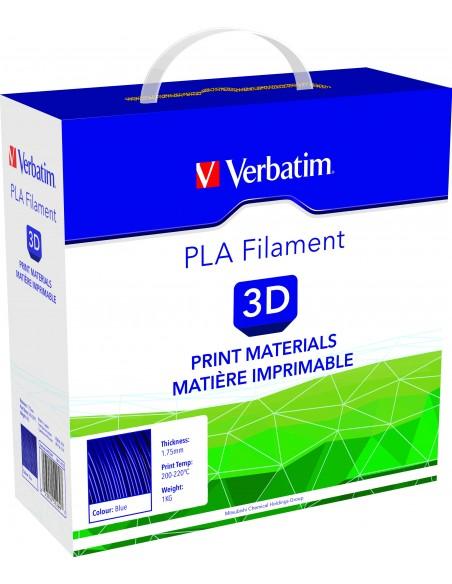 PLA пластик 1.75 мм синий Verbatim