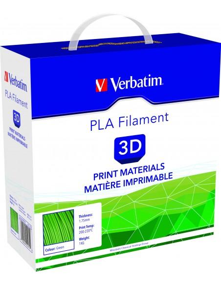 PLA пластик 1.75 мм зеленый Verbatim