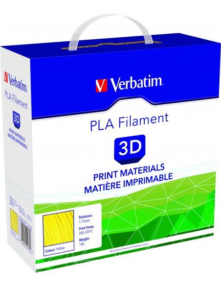 PLA пластик 1.75 мм желтый Verbatim