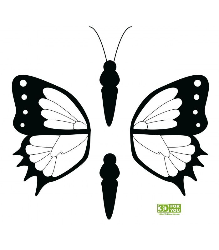 3д бабочка вишни.jpg картинка