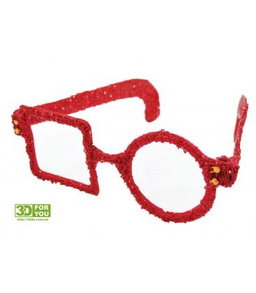 Очки (трафарет для 3D ручки)