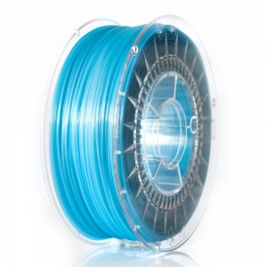 PLA пластик 1.75 мм голубой прозрачный Devil Design (Польша)