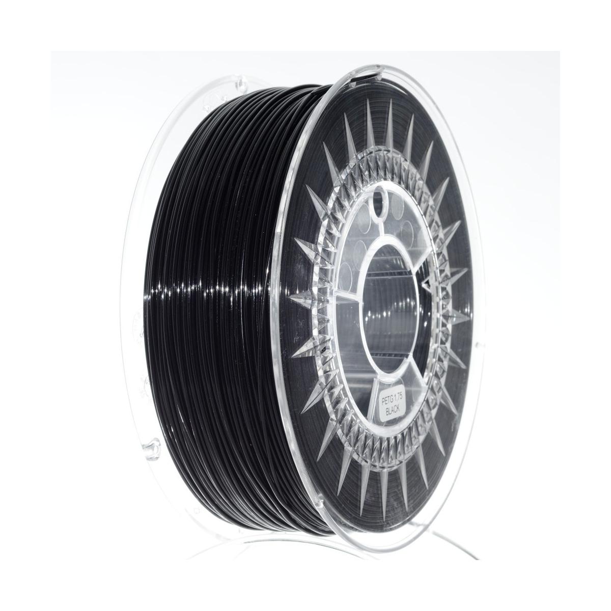 PET G 1.75 мм Черный Пластик Для 3D Печати Devil Design (Польша)