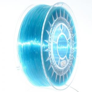 PET G 1.75 мм голубой прозрачный пластик для 3D печати Devil Design (Польша)