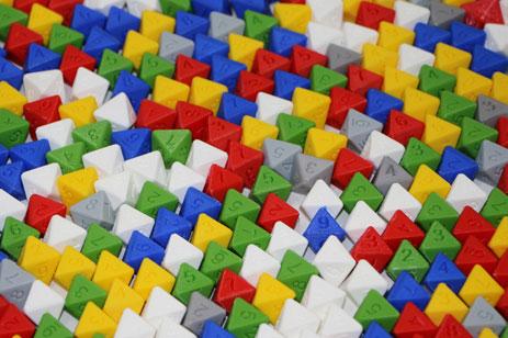 3D печать кубиков для настольной игры