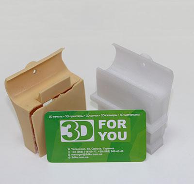 Держатель ламелей кровати на 3D принтере