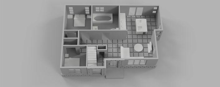 3D печать архитектурной модели