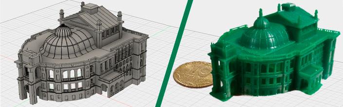 3D печать архитектурного макета