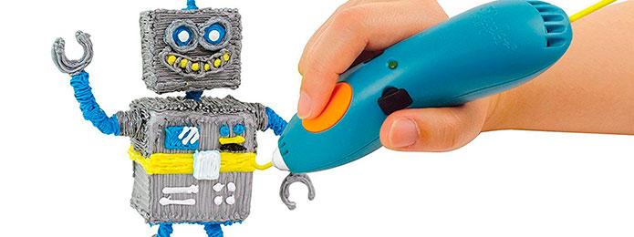 Рисуем 3D ручкой 3Doodler Start