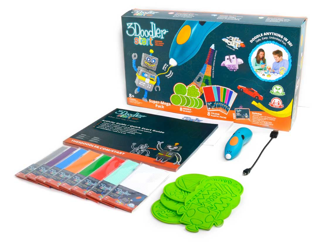 Комплект поставки 3Doodler Start Creative