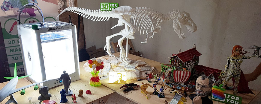 Стенд 3D4U (Odesa Maker Faire)