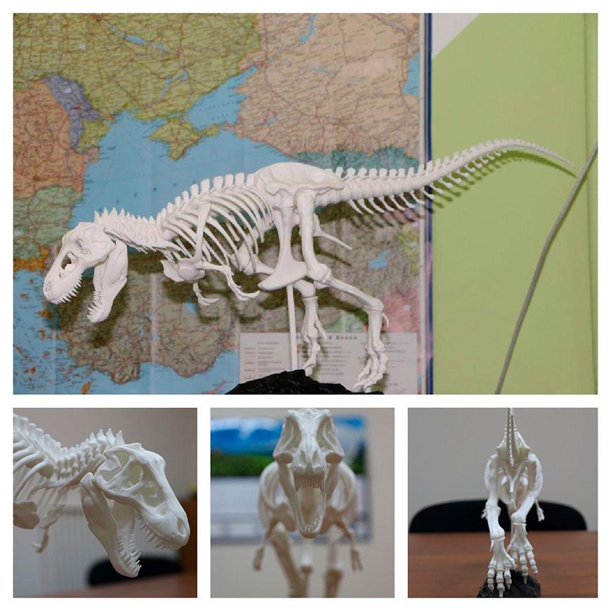 Тираннозавр T-REX компании 3D4U