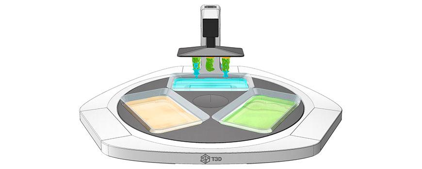 3D принтер-смартфон T3D