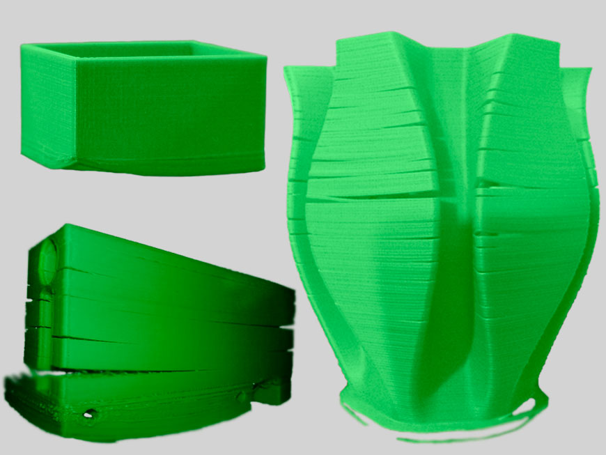 Расстрескивание слоев, скручивание ABS